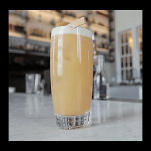 Presbyterian Cocktail in glass
