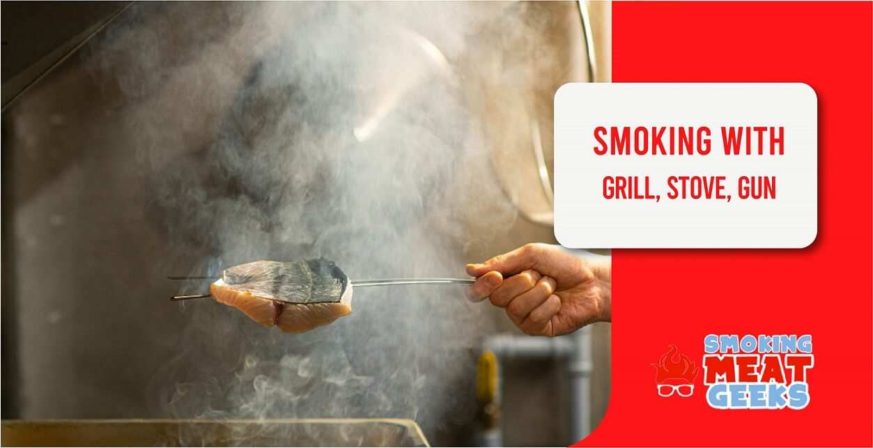 SMOKING MEAT ON GRILL, STOVE, & ALTERNATIVE METHODS FEATURED IMAGE