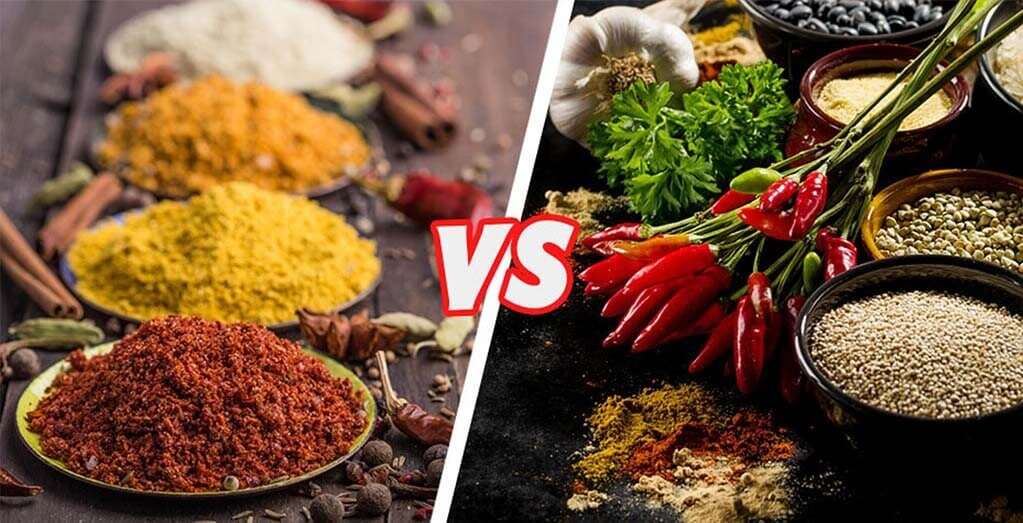 Whole and Ground Spices