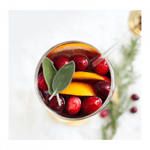 red Sangria In Glass